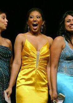 Chasta Nechvatal (@ChastaShasta) hears her name called #MissAnaheim 2007 #Anaheim #MissCalifornia #MissAmerica