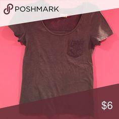 SO tee shirt Good used condition. Charcoal grey SO Tops Tees - Short Sleeve