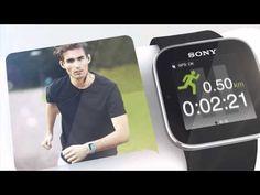 Sony Smartwatch Android Uhr: Die Sony Smartwatch kann Facebook Einträge, Tweets, Texte und E-Mails und eingehende Anrufe anzeigen.