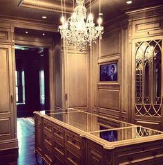 Ultra Luxe Opulent Walk-In Closet