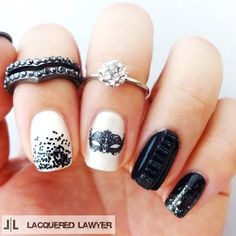 Lacquered Lawyer | Nail Art Blog: Midnight Masquerade
