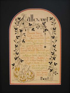 This is so lovely:  Halloween Journey by Crabapple Hill Studio