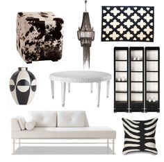 Black and White and Glam All Over