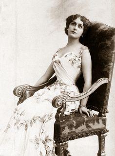 "antique-royals: ""Lina Cavalieri """