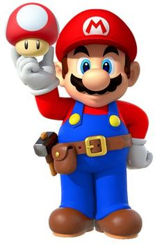 Mario Maker with Super Mushroom by Banjo2015.deviantart.com on @DeviantArt