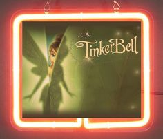 Tinkerbell  Brand  Neon Light Sign 01