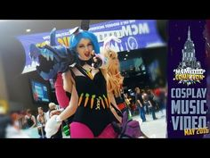MCM ComicCon May 2016 Cosplay Music Video Part Two - I'll Be Yours - YouTube