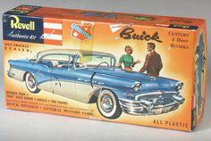 Model Cars Kits, Kit Cars, Car Kits, Plastic Model Cars, Old Models, Box Art, Buick, Scale Models, Ephemera