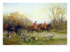 British hunt artwork for classic look