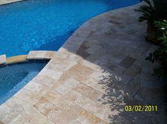 pool patio with pavers | Pool Pavers | Artistic Pool Deck Pavers | Swimming Pool Decks & Pavers ...