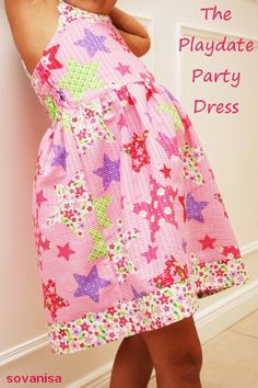 sovanisa: Tutorial to sew Playdate Party Dress (4T pattern)