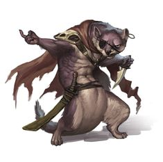 Stoat // Redwall Races // Illustration by Jerome Jacinto Fantasy Races, Fantasy Rpg, Fantasy Artwork, Fantasy Character Design, Character Design Inspiration, Character Art, Creature Concept Art, Creature Design, Dnd Characters