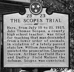 an introduction to the scopes trial The scopes monkey trial the scopes trial was a monumentally important event in american history effect on education effects on society and its as recorded, the courtroom was full of various recording equipment (it was the first trial broadcast in american history), and many flocked to the.