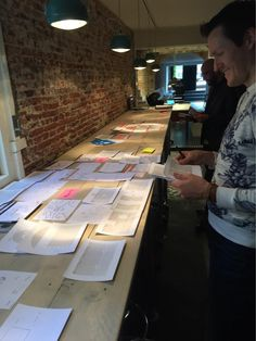 Workshop at ThirtyX, Amsterdam