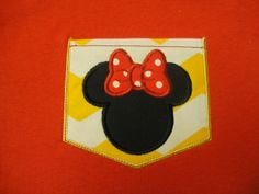 Personalized Disney Pocket Tee Perfect for Disney Vacations on Etsy, $18.00