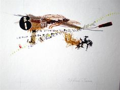 Scribble Art, Calligraphy Text, Cool Typography, Collage Art Mixed Media, Contemporary Embroidery, John Keats, Textiles, Bright Stars, Mark Making