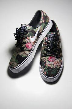 shoes nike floral vintage floral floral girly nike sneakers floral nike stefan janoski floral women stefan janoski