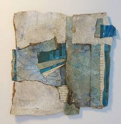 Collage art of Laura Lein-Svencner: Floating Collage Class-Naperville Art League
