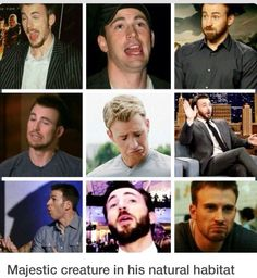 We would be good together because the faces. I make ridiculous faces all of the time too. He is gorgeous with or without the beard, though I do prefer him with a furry face