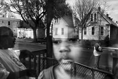Paolo Pellegrin. A family in the NE neighborhoods of Rochester.
