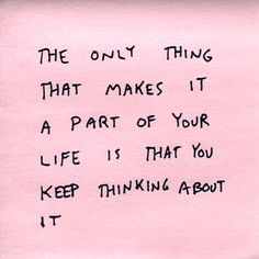 sooo true. i worry over lil things that shouldn't be a big part of my life.