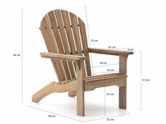 ROUGH-S Adirondack lounge tuinstoel - Old Teak Greywash - Kees Smit Adirondack Chair Plans, Outdoor Furniture Plans, Woodworking Furniture Plans, Rustic Furniture, Garden Furniture, Cama Design, Upholstered Swivel Chairs, Rustic Chair, Diy Chair