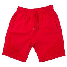 FCC BIKER SHORTS IN RED ($55) ❤ liked on Polyvore featuring shorts, bottoms, red bike shorts, bicycle shorts, bike shorts, cycling shorts and short bike shorts