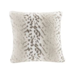 Indulge in luxury with our premium faux fur square decorative pillow. The faux fur is exceptionally soft and has the warmth and texture of real fur. It adds a glamorous accent to your home and comes in an array of colors.