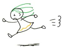 6. 人に動きをつけてみよう - ボールペンで描く!プチかわいいイラスト練習帳 Stick Figures, Pencil Drawings, Crafts, Life, Fictional Characters, Toddler Girls, Dibujo, Basic Drawing, Manualidades