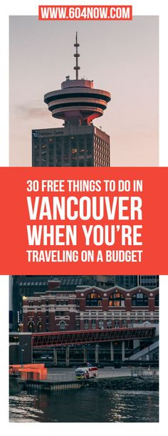 Looking for free things to do in Vancouver, BC? It's right here for all you budget friendly travellers. Welcome to British Columbia. Vancouver Things To Do, Visit Vancouver, Vancouver Travel, Vancouver British Columbia, Seattle Travel, Vancouver Island, Free Travel, Travel Tips, Travel Destinations
