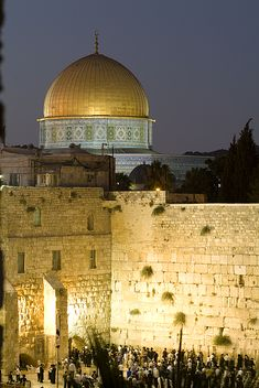 Dome Of The Rock And The Western Wall - Jerusalem. Photograph by Richard Nowitz