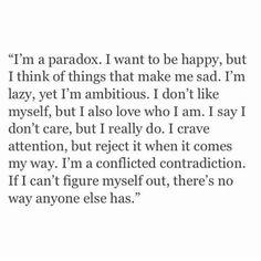 Im a paradox