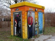 BVG Toiletten-Häuschen
