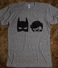 The DARK Superhero and The Bird Superhero....love this site for nerdy tees!!!
