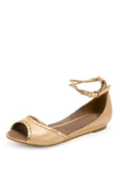 Footglove™ Fashion Wide Fit Whip Stitched Two Tone Shoes.  These would be good for summer and for holidays.  The neutral colour makes them very versatile for so many outfits.  marksandspencer.ie €55