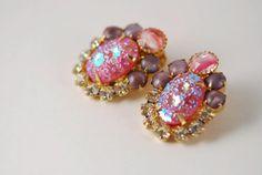 Juliana D Earrings Verified by AMagnificentMess on Etsy, $24.95
