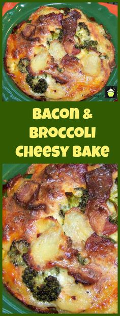 Bacon & Broccoli Cheesy Bake - Quick, easy and very delicious!