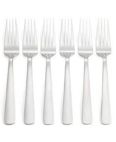 Oneida Set of 6 Aptitude Dinner Forks - Flatware & Silverware - Dining & Entertaining - Macy's