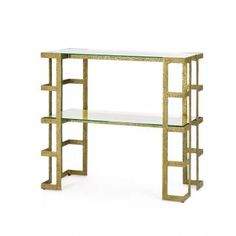 Textured Cage Console - Mecox Gardens