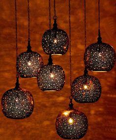 Moroccan Pendant Light Fixtures That Will Transform Your Home: Moroccan Pendant Light Moroccan Pendant Light, Diy Pendant Light, Moroccan Lighting, Moroccan Lamp, Moroccan Design, Pendant Lights, Moroccan Style, Moroccan Lanterns, Pendant Lamp