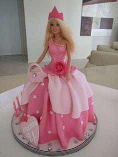 Barbie doll cake, I like the dress