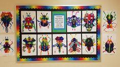 Primary School Art, Art School, Art Education, Advent Calendar, Holiday Decor, Frame, Home Decor, Picture Frame, Elementary Art