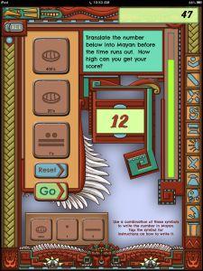 Mayan math app