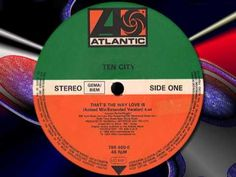 """TEN CITY """" That's The Way Love is """" (Acieed Mix/Extended Version)"""