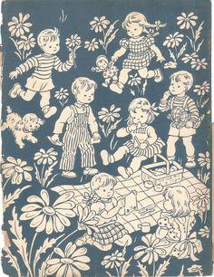 1930 Children Having A PICNIC