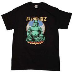 Blink 182 T Shirt   Blink 182 Buddha T-Shirt