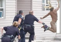 Once again, The Naked Rollerblading Easter Bunny leads the local cops on a merry chase.
