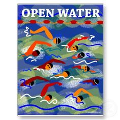 Do an open water swim = new year's resolution 2012 (... partly because swimming is awesome, and partly because open water scares me)