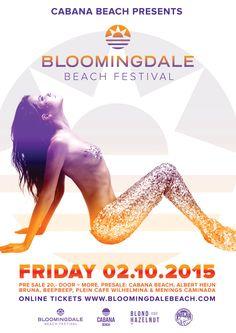 OCT 2ND 2015 Bloomindale Beach Festival | Bloemendaal aan Zee NL | www.bloomingdalebeach.com
