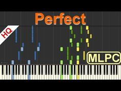 Print and download Perfect sheet music by My Little Piano Channel arranged for Piano. Instrumental Solo in Ab Major. SKU: MN0172583